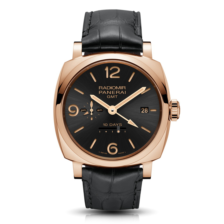 Radiomir 1940 10 Days GMT Automatic Oro Rosso - 45mm PAM00625