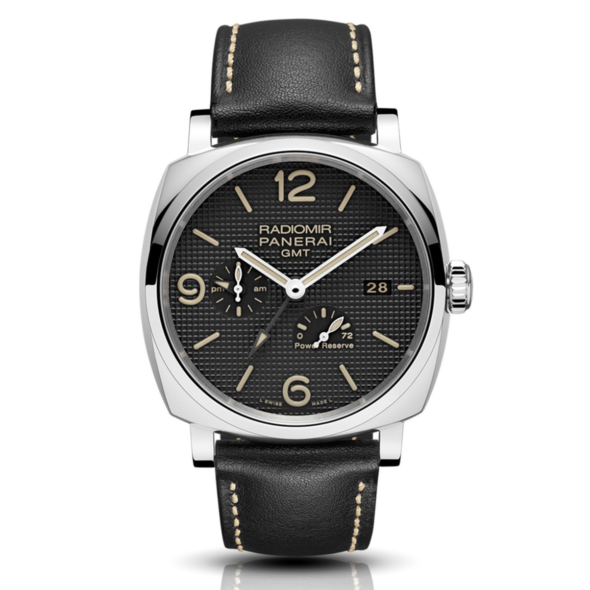 Radiomir 1940 3 Days GMT Power Reserve Automatic Acciaio PAM00628