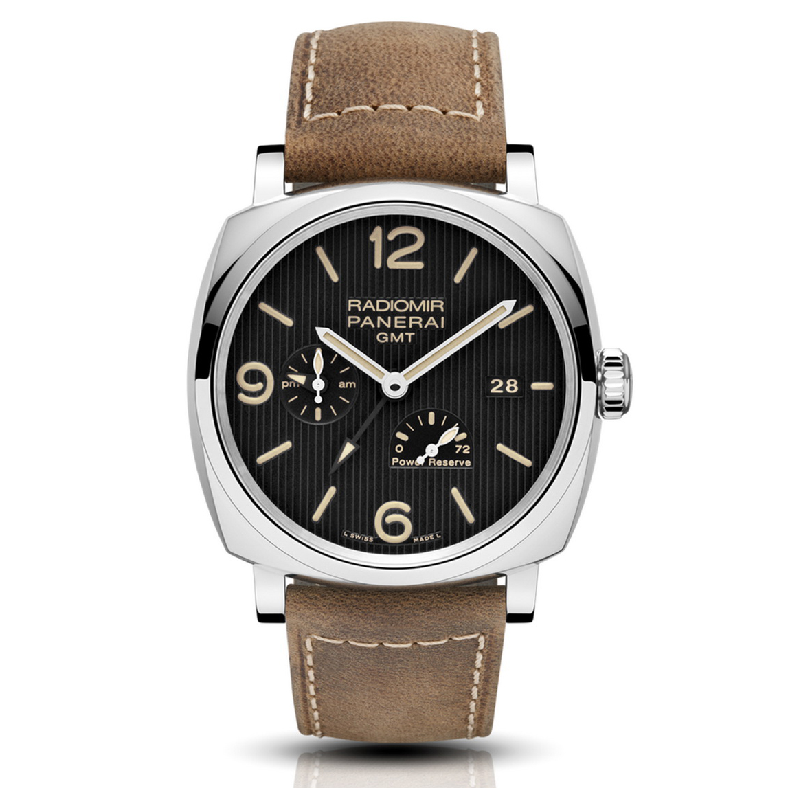 Radiomir 1940 3 Days GMT Power Reserve Automatic Acciaio PAM00658