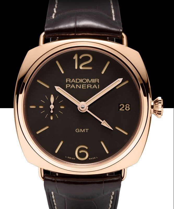 Radiomir 3 Days GMT Oro Rosso PAM00421
