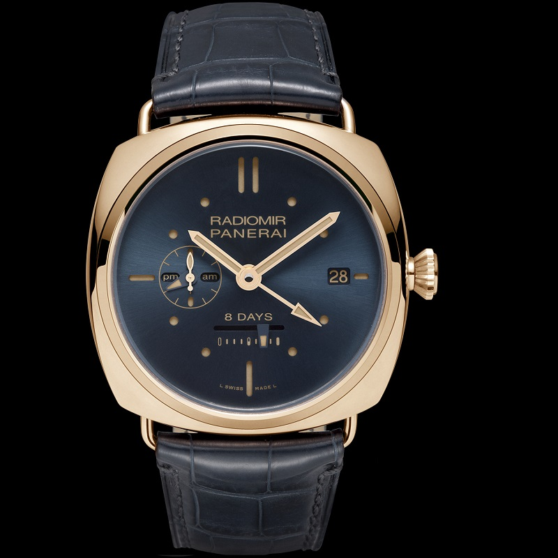 Radiomir 8 Days GMT Oro Rosso PAM00538