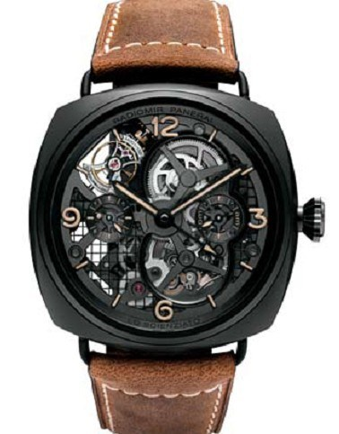 Radiomir Tourbillon GMT Ceramic PAM00350