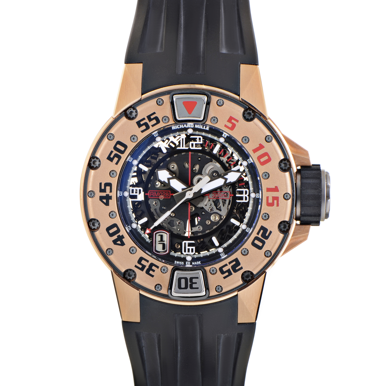 RM 028 Automatic Diver's Watch RM028 AK RG