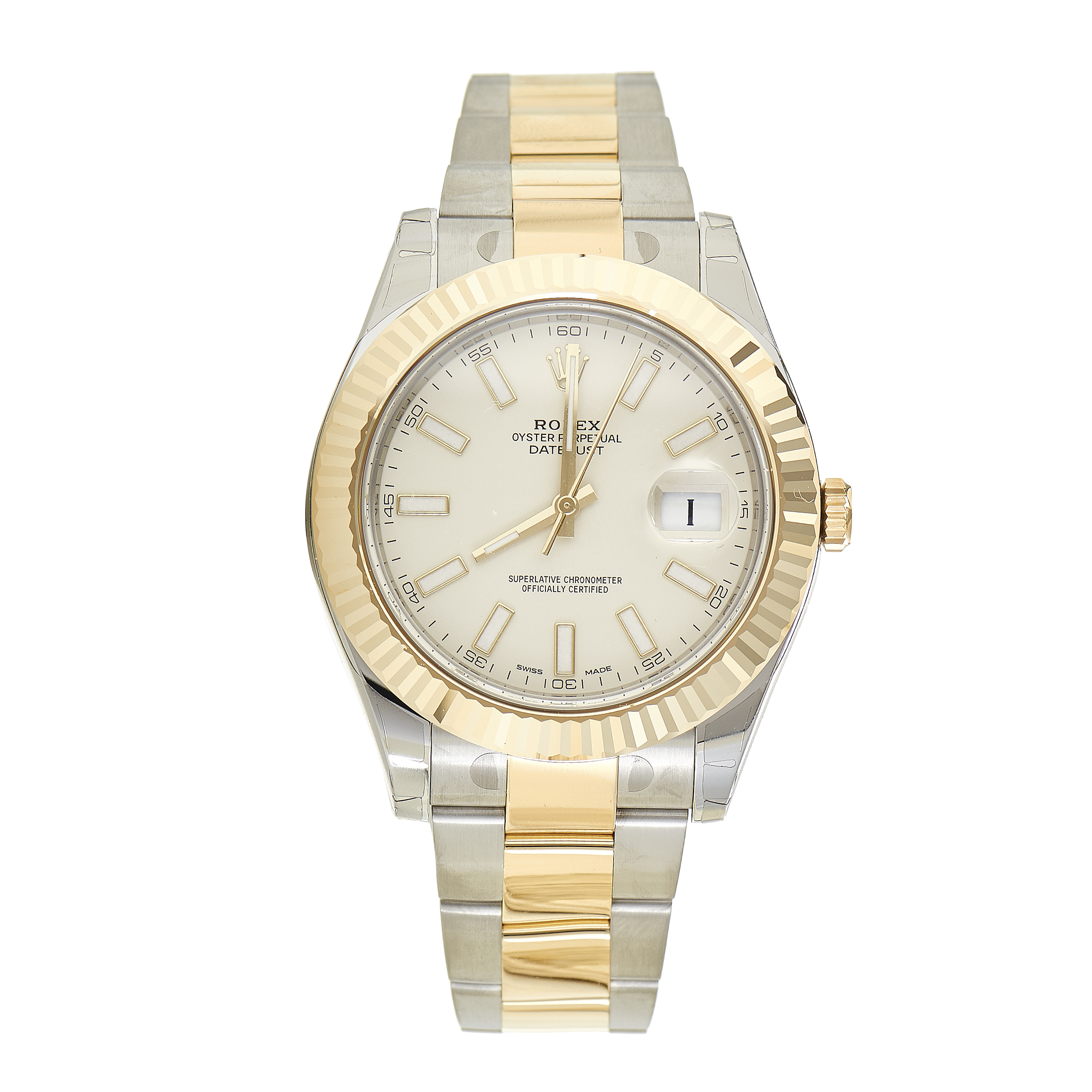 Oyster Perpetual Datejust II Men's Automatic Watch 116333 wio
