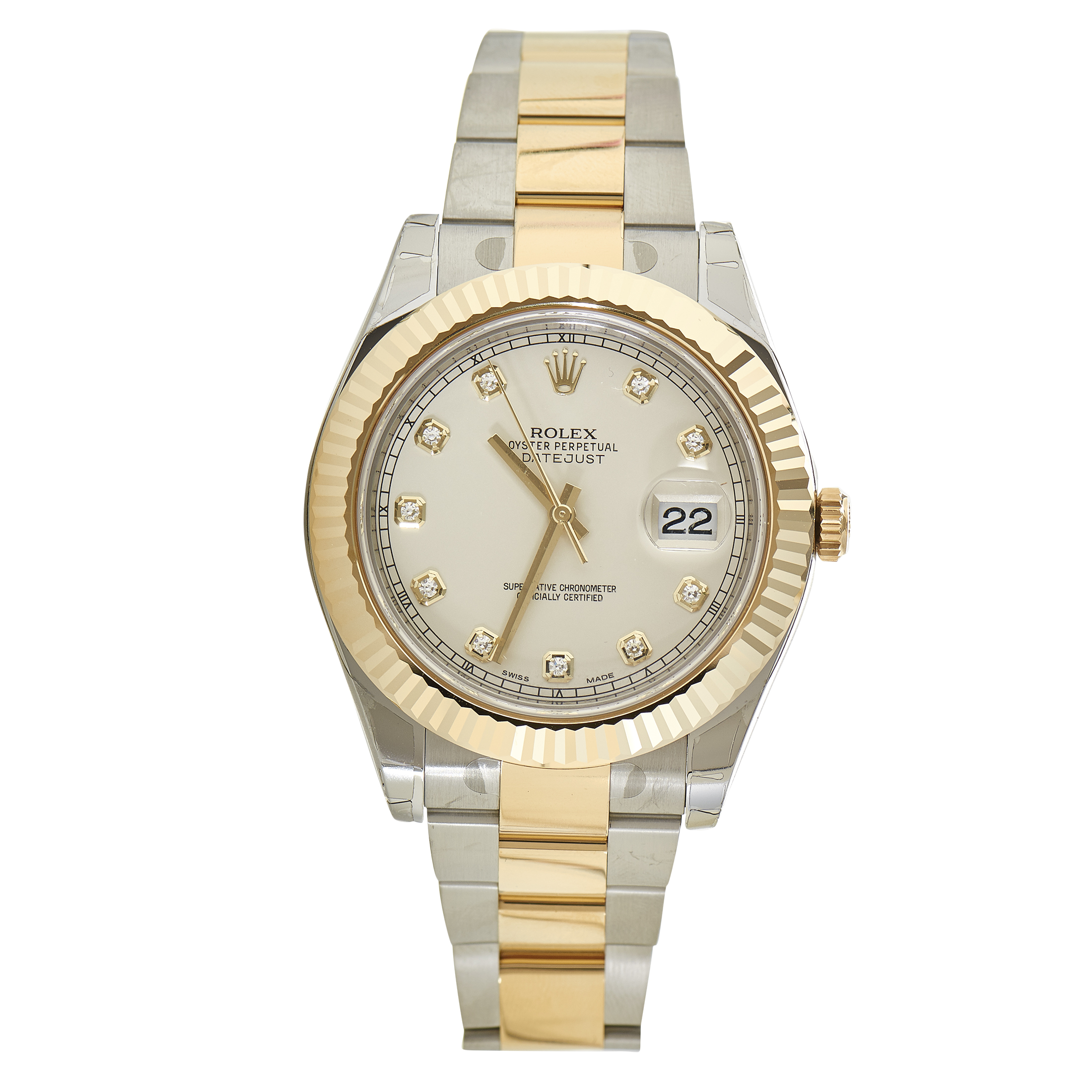 Oyster Perpetual Datejust II Men's Automatic Watch 116333 ido