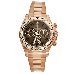 Oyster Perpetual Cosmograph Daytona Men's Automatic Watch 116505 choc