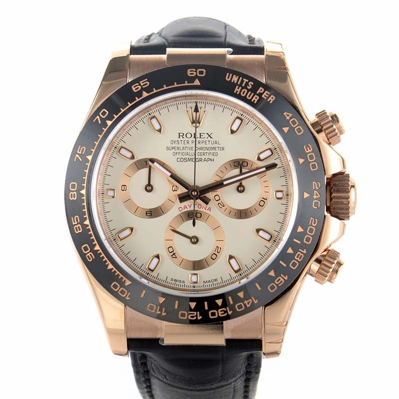 Oyster Perpetual Cosmograph Daytona Men's Everose Watch 116515 LNi