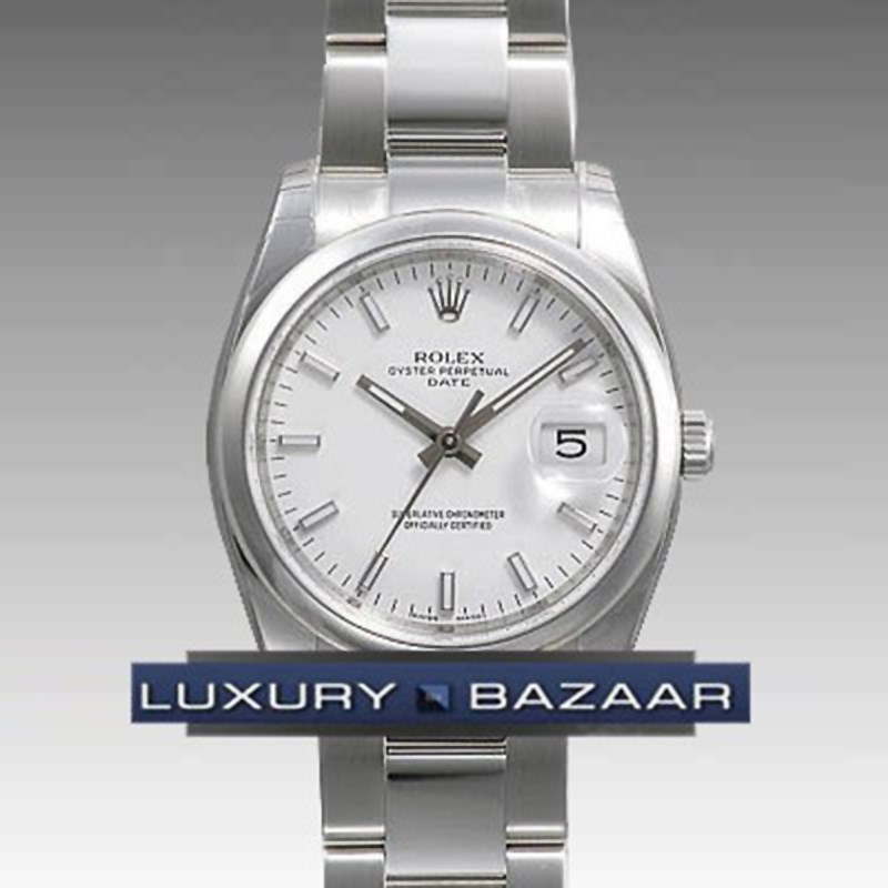 Date 34mm Domed Bezel 115200 wio