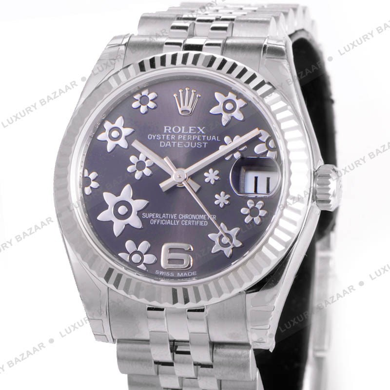 Oyster Perpetual Datejust 31mm Fluted Bezel 178274 rfj