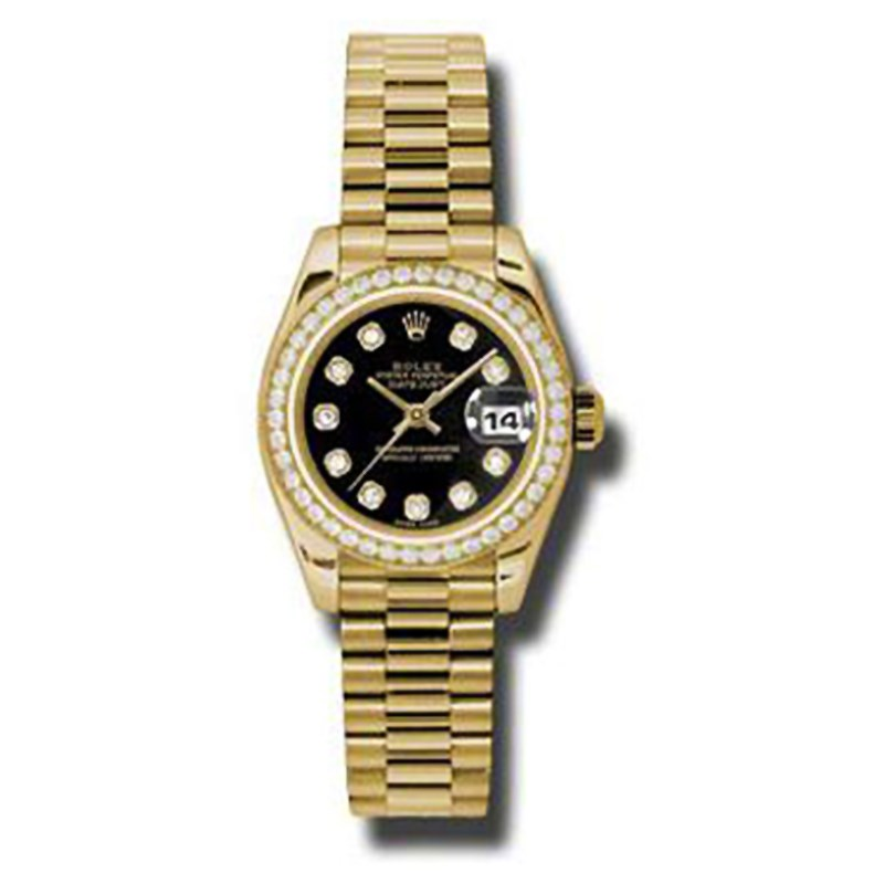 Datejust Lady Gold 26mm 179138 bkdp