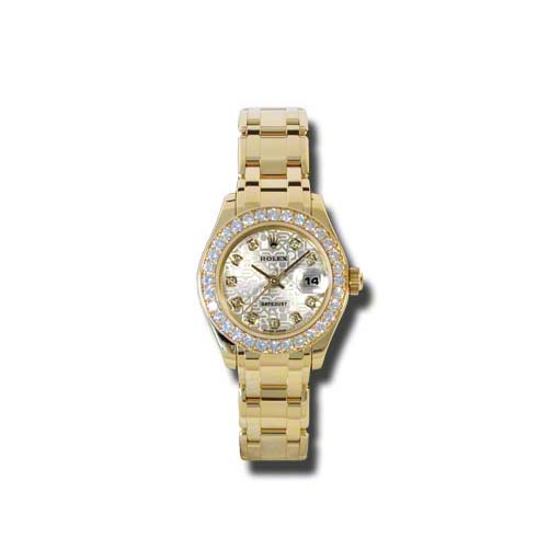 Masterpiece Oyster Perpetual Lady-Datejust Pearlmaster 80298 sjd