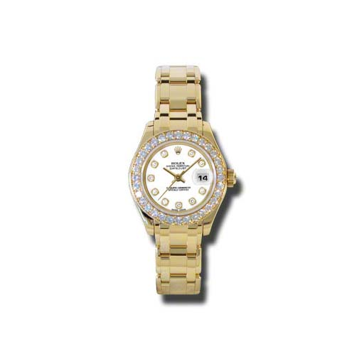 Masterpiece Oyster Perpetual Lady-Datejust Pearlmaster 80298 wd