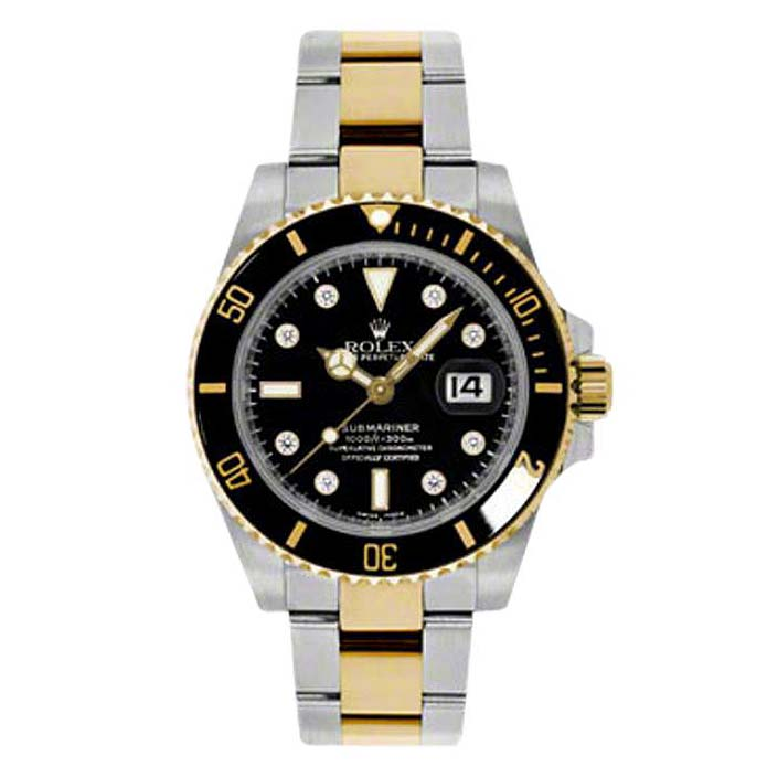 Oyster Perpetual Submariner Date Rolesor 116613 bkd