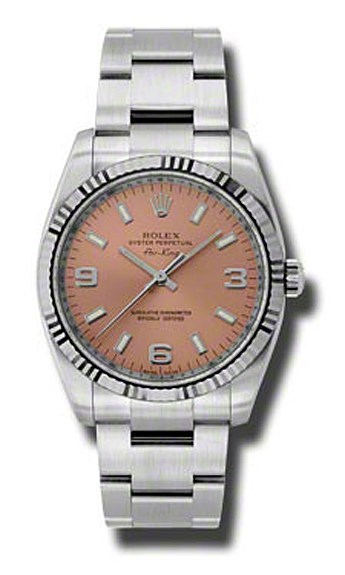 Oyster Perpetual Air-King 34mm Fluted Bezel 114234 pao
