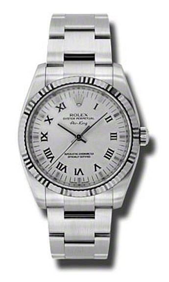 Oyster Perpetual Air-King 34mm Fluted Bezel 114234 sro