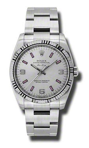 Oyster Perpetual Air-King 34mm Fluted Bezel 114234 spio