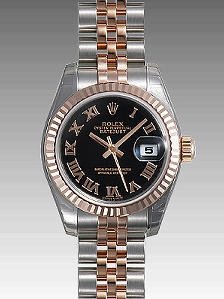 Lady Datejust 26 Fluted 179171 bkrj