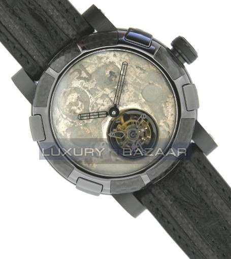 Moon Dust-DNA – Black Mood Silver Tourbillon