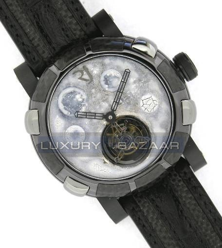 Moon Dust-DNA – Black Mood White Tourbillon