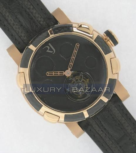 Moon Dust-DNA –Gold Mood Black Tourbillon