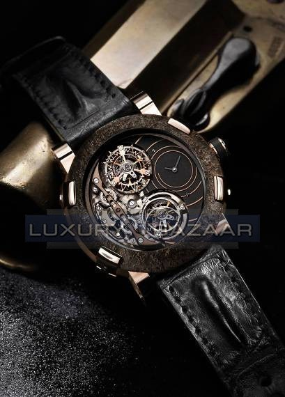 Titanic-DNA - Day and Night - Double Tourbillon Spiral- WORLD FIRST