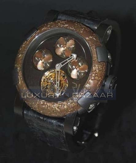 Titanic-DNA - rusted steel T-OXY IV Tourbillon A Hélices