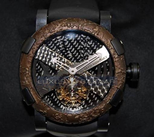 Titanic-DNA - rusted steel T-OXY IV Tourbillon Rodriguez Trauma/Black