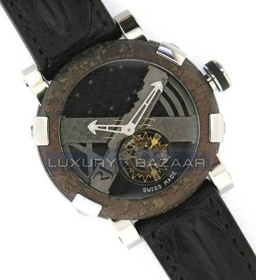 Titanic-DNA - rusted steel T-OXY IV Tourbillon Rodriguez Trauma/ Steel