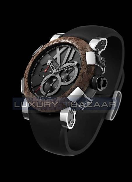 Titanic-DNA – Chrono OXY Steel Chronograph CH.T.OXY3.11BB.00