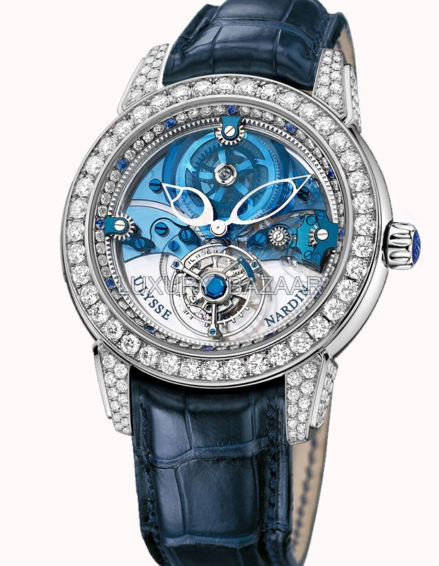 Royal Blue Tourbillon 43mm 799-93