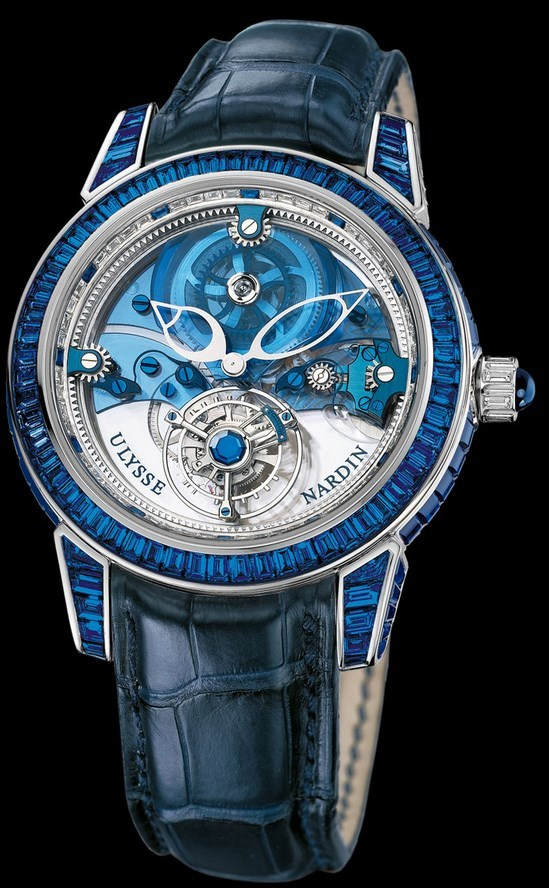 Royal Blue Tourbillon 43mm 799-98BAG