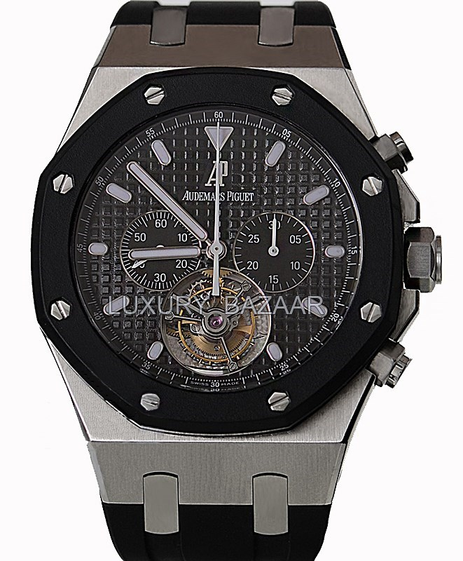 Royal Oak Tourbillon Chronograph   26377SK.OO.D002CA.01
