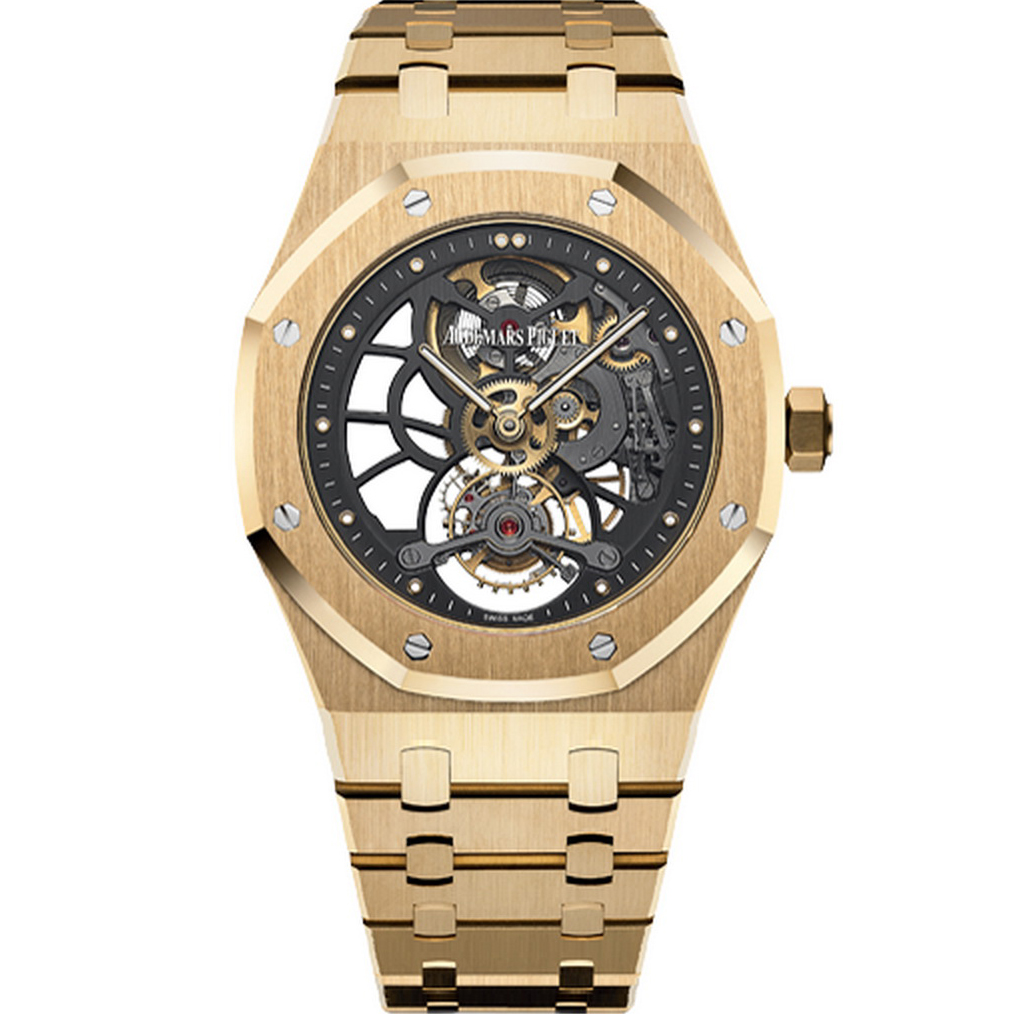 Royal Oak Tourbillon Extra-Thin Openworked 26513BA.OO.1220BA.01