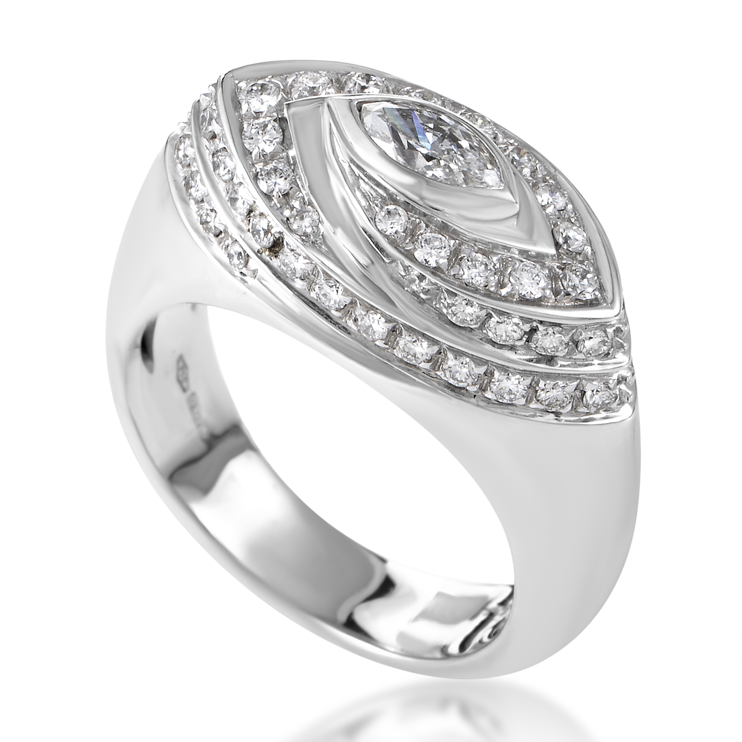 Salvini Women's 18K White Gold Diamond Ring