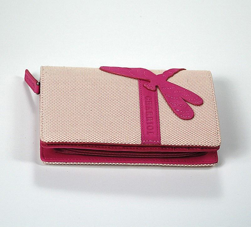 Escapade III Pink Dragonfly Wallet SLGCACO.199.9208