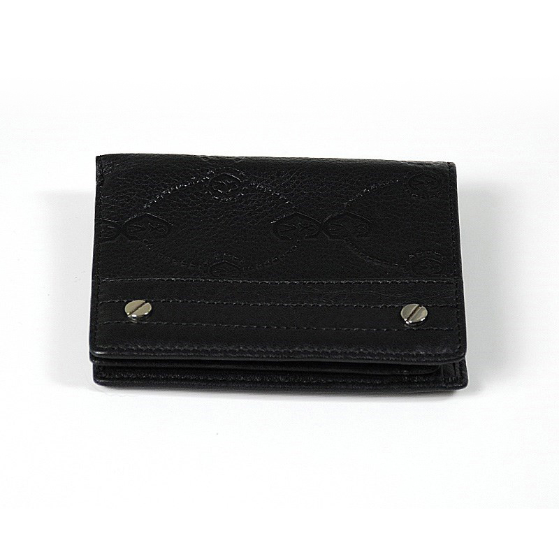 Escapade VI Black Stamped Wallet SLGSTAMCO.11.9212