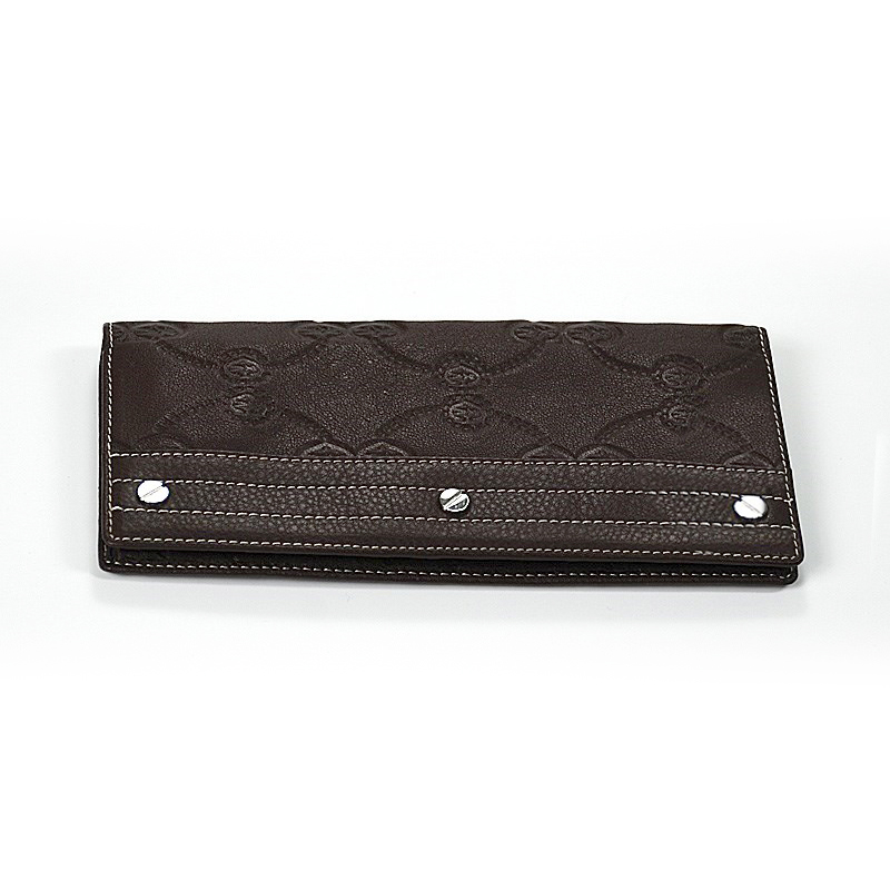 Escapade VI Brown Stamped Wallet SLGSTAMCO.44.9010