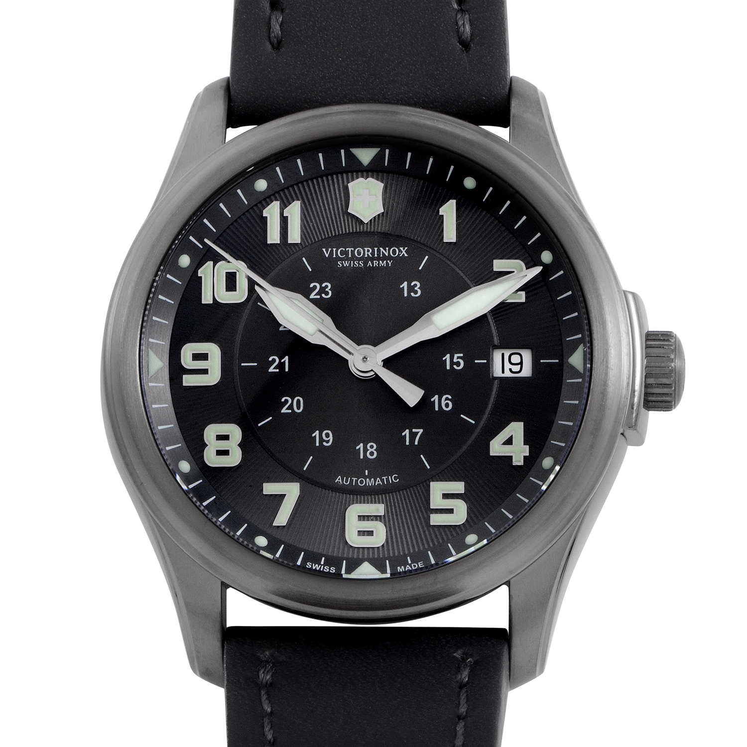 Infantry Vintage Mens Stainless Steel Automatic Watch 241518