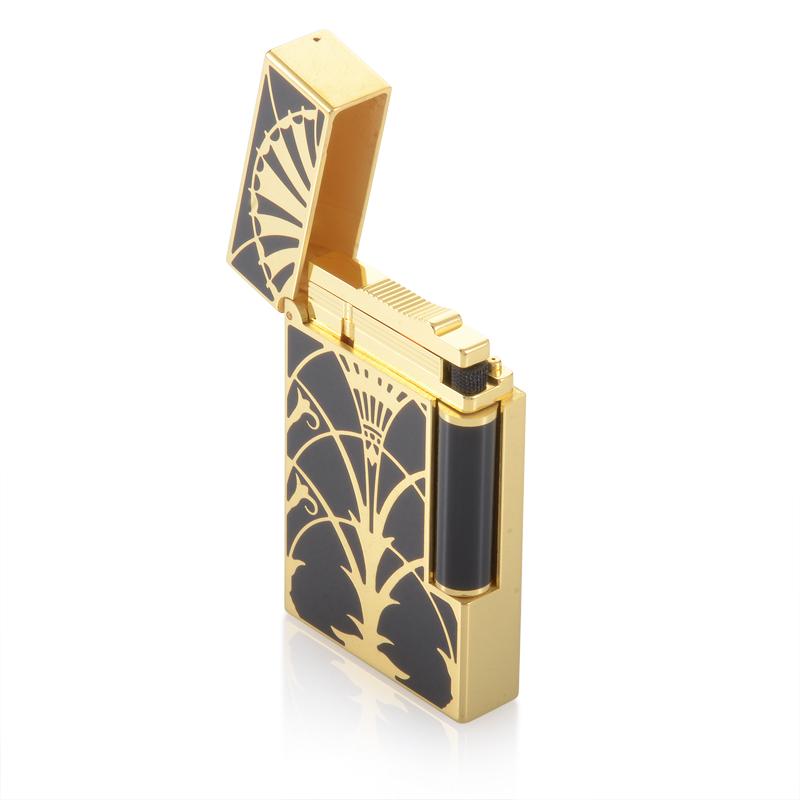 Ligne 2 American Art Deco Gold Finish Lighter 016063