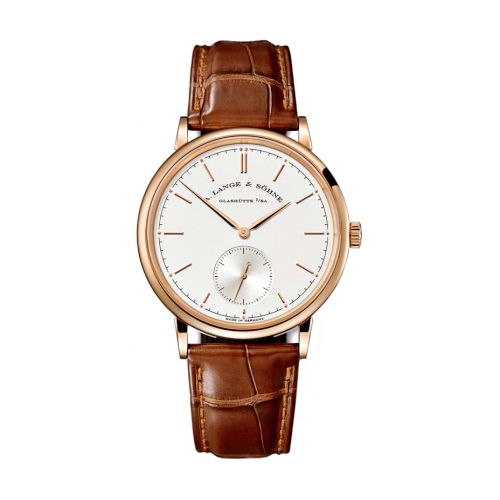 Saxonia (PG / Silver / Leather Strap)