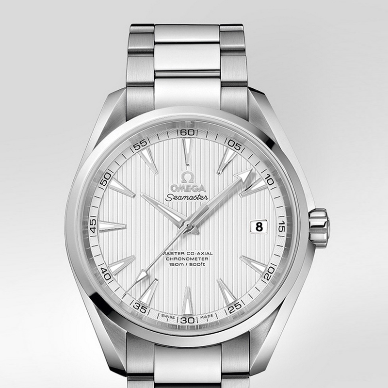 Seamaster Aqua Terra 150 m Omega Master Co-Axial 41.5 mm 231.10.42.21.02.003 (Stainless Steel)