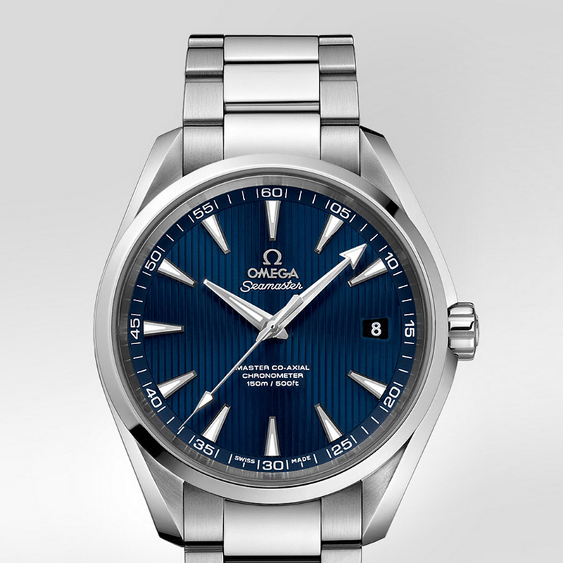 Seamaster Aqua Terra 150 m Omega Master Co-Axial 41.5 mm 231.10.42.21.03.003 (Stainless Steel)