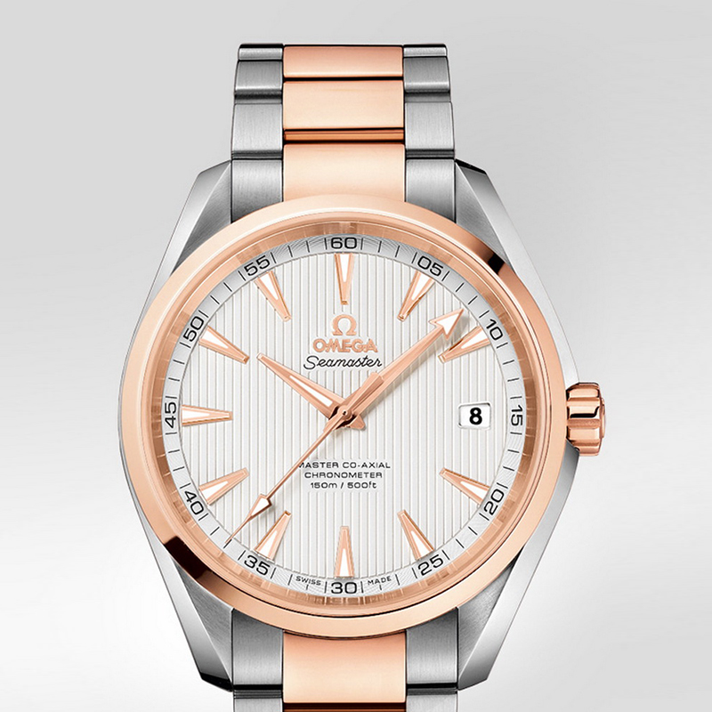 Seamaster Aqua Terra 150 m Omega Master Co-Axial 41.5 mm 231.20.42.21.02.001 (Stainless Steel/Rose Gold)