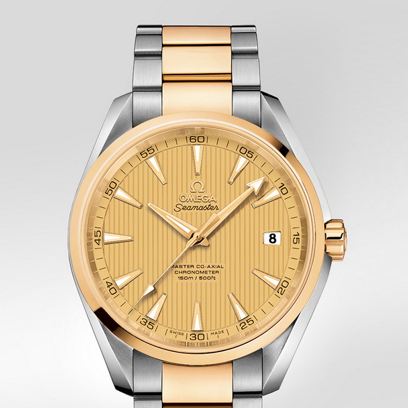 Seamaster Aqua Terra 150 m Omega Master Co-Axial 41.5 mm 231.20.42.21.08.001 (Stainless Steel/Yellow Gold)