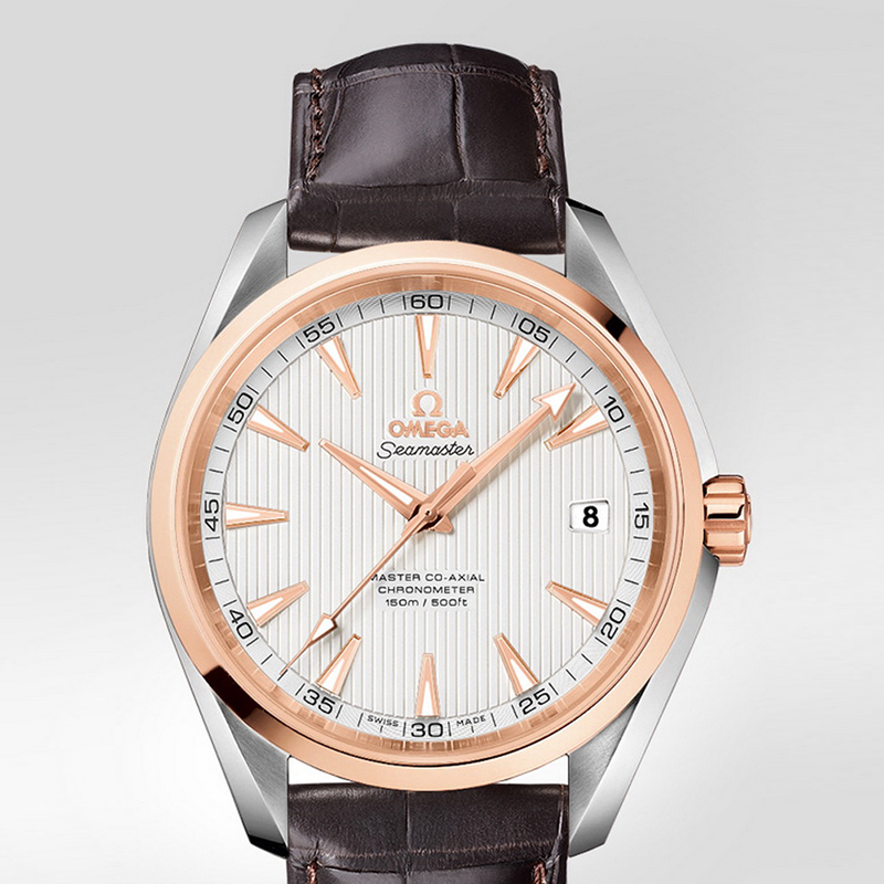 Seamaster Aqua Terra 150 m Omega Master Co-Axial 41.5 mm 231.23.42.21.02.001 (Stainless Steel/Rose Gold)