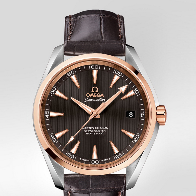 Seamaster Aqua Terra 150 m Omega Master Co-Axial 41.5 mm 231.23.42.21.06.003 (Stainless Steel/Rose Gold)