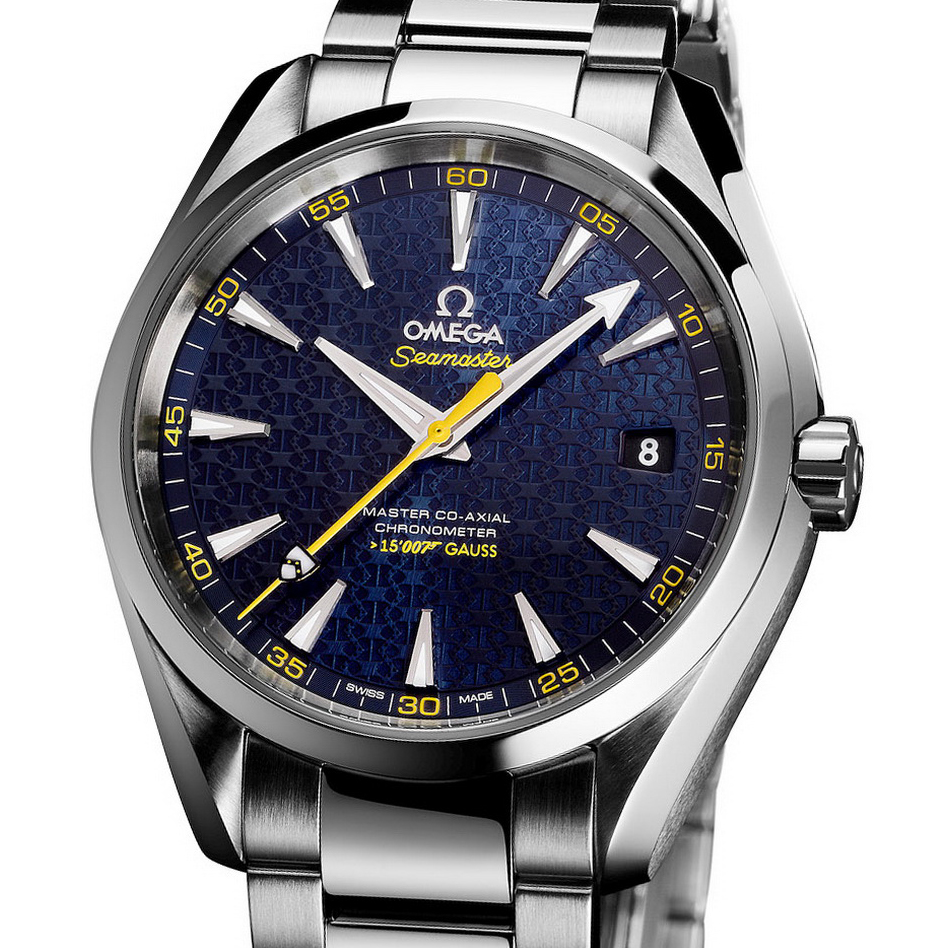 Seamaster Aqua Terra 150m James Bond Limited Edition 231.10.42.21.03.004 (Stainless Steel)