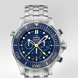 Seamaster Diver 300 m Co-Axial GMT Chronograph 44 mm 212.30.44.52.03.001 (Stainless Steel)