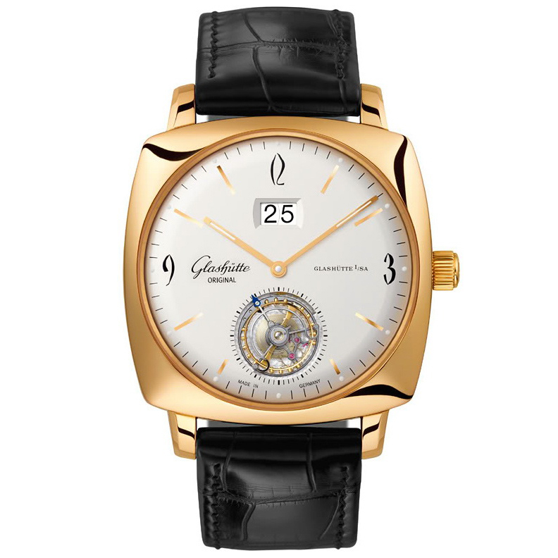 Senator Sixties Square Tourbillon 94-12-01-01-04