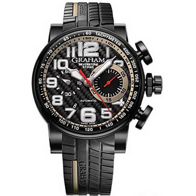 Silverstone Stowe Racing Chrono 2BLDC.E01A (Stainless Steel)